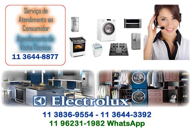 electrolux assistencia sp
